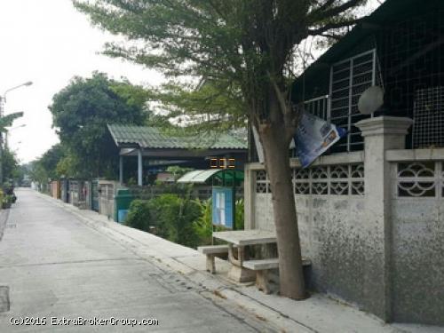 ที่ดิน 100 ตรว.ซ.หทัยราษฎร์31 มีนบุรี เหมาะปลูกบ้าน  อพาร์ทเมนท์ ใกล้ถนนเมน