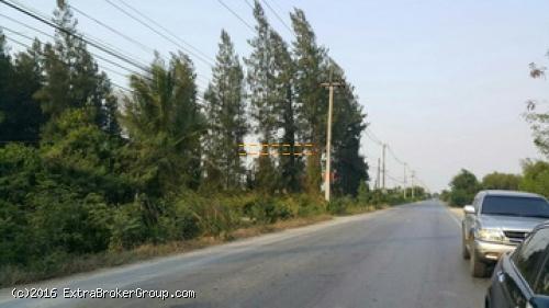 p0079, ที่ดิน 168 ตรว. ติดถนนทางลัดหลวง