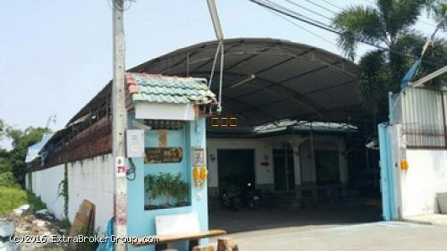 โกดังโรงงาน ย่านราชพฤกษ์ นนทบุรี บางพลับ แปลงมุม รถใหญ่เข้าถึง