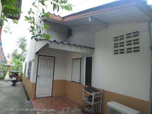 p0121, บ้านชั้นเดียว เนื้อที่ 42 ตรว. 3นอน2น้ำ บางบอน3 หลังติดคลอง อากาศดี
