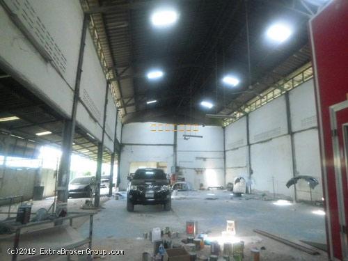 โกดัง-โรงงาน เนื้อที่ 1ไร่ ขนาด 15x30เมตร คลองสี่วาฯ-เอกชัย-พระราม2