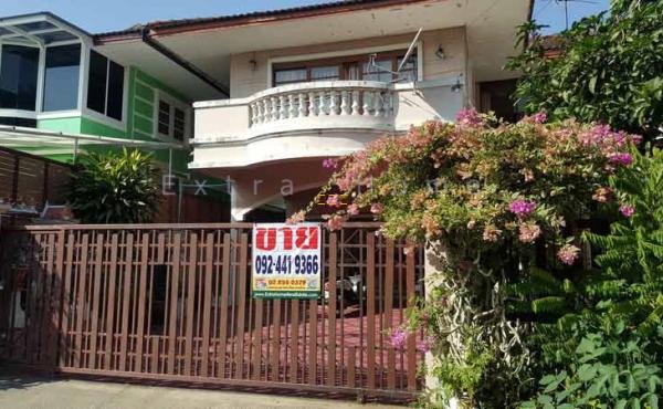 โชคชัยปัญจทรัพย์ บ้านเดี่ยวติดถนนใหญ่ 80ตรว.บรมราชชนนี111 ร่มรื่นน่าอยู่