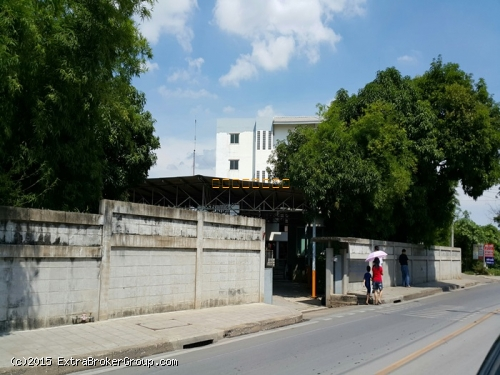 ให้เช่า บ้าน +ที่ดินเปล่า ทำเลดี 198 ตรว. ถ.ชัยพฤกษ์ ปิ่นเกล้า เหมาะทำ office +ทำการค้าได้ ติดถนนเมน