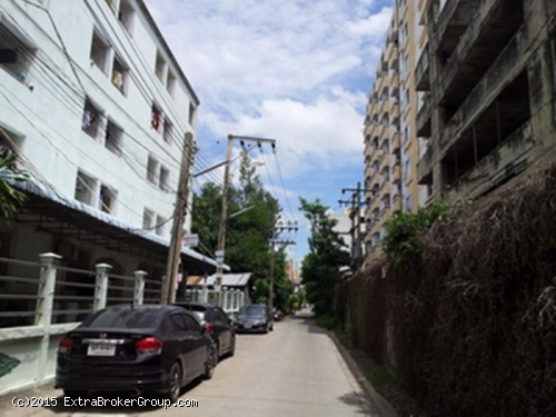 ขายที่ดิน ซ.มหาดไทย รามคำแหง65 เนื้อที่ 47 ตรว.ถมแล้ว เหมาะปลูกหอพัก-บ้านอยู่อาศัย